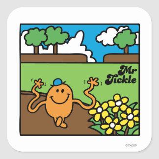 Mr. Tickle | Outdoor Fun Square Sticker