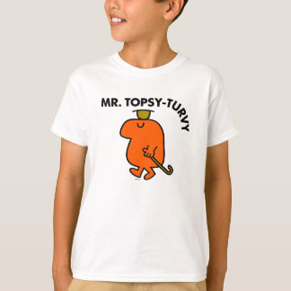 Mr. Topsy-Turvy | Upside Down Hat & Cane T-Shirt