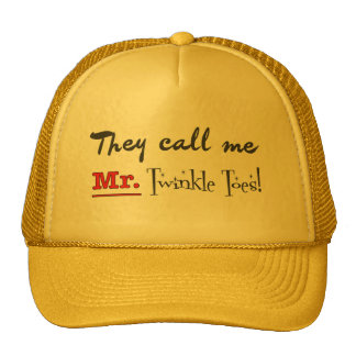 Mr. Twinkle Toes Ballet Gifts Cap