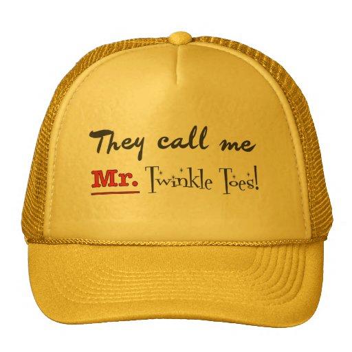 Mr. Twinkle Toes Ballet Gifts Trucker Hats