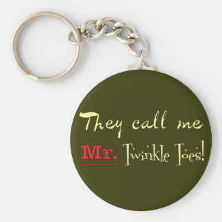 Mr. Twinkle Toes Ballet Gifts Key Ring