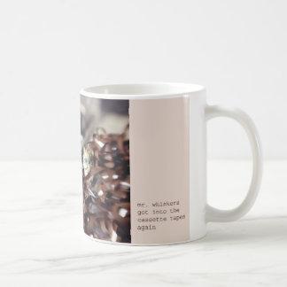 Mr. Whiskers Basic White Mug