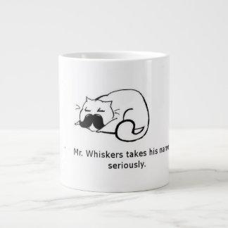 Mr Whiskers Large Coffee Mug