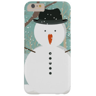 Mr. Winter Snowman Barely There iPhone 6 Plus Case