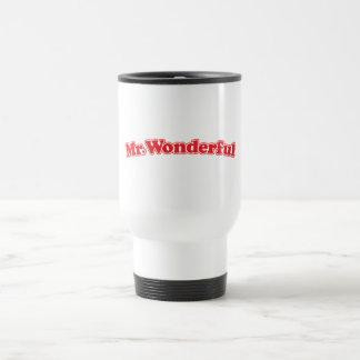 Mr Wonderful Stainless Steel Travel Mug