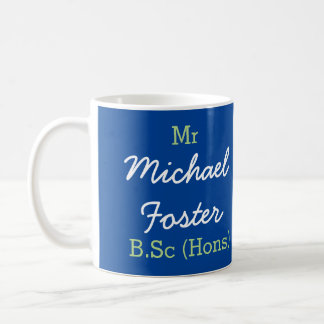 Mr (Your Name) B.Sc (Hons) Graduation Mug
