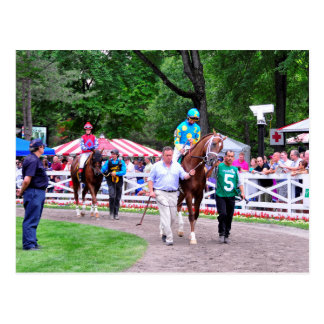 Mr. Z in the 100th Sanford Stakes Post Card