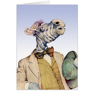 Mr. Zebra Card