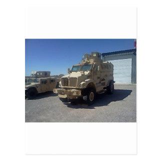 MRAP US MILITARY ARMOR POSTCARD
