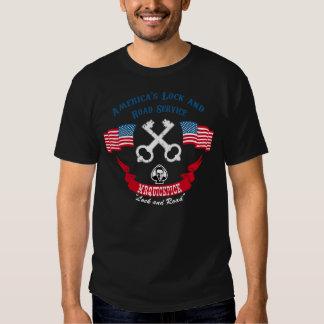 """MrQuickPick Lock and Road Service """"Biker Tee"""" T-shirts"""