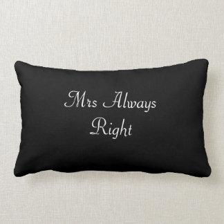 Mrs Always Right Wedding/Bride Cushion