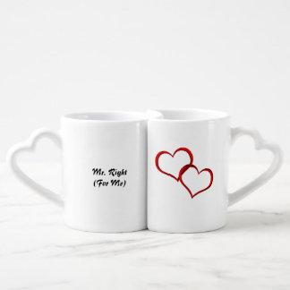 Mrs. and Mrs. Right Coffee Mug Set
