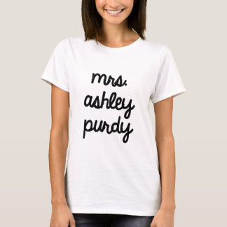 Mrs. Ashley Purdy T-Shirt