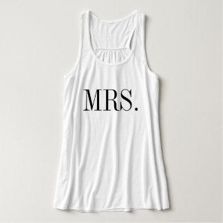 Mrs. bride wedding shirt