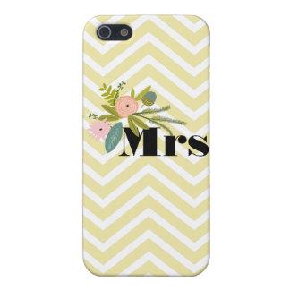 Mrs Bride's Zig Zag Pattern iPhone 5 Case