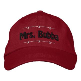 Mrs Bubba Funny Redneck Nickname Embroidered Baseball Cap