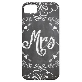 Mrs. Chalkboard iPhone5 Case