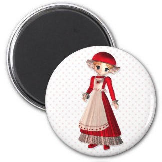 Mrs. Claus Magnet
