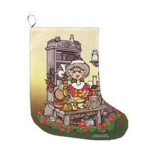 Mrs. Clause Christmas Stocking