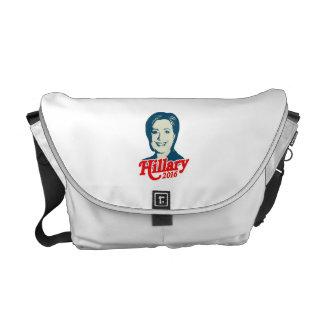 MRS. CLINTON FOR PRESIDENT 2016 MESSENGER BAGS
