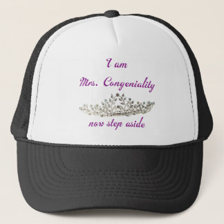 Mrs. Congenialty Trucker Hat