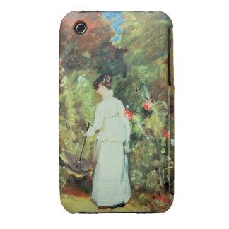 Mrs Constable in her Garden iPhone 3 Case