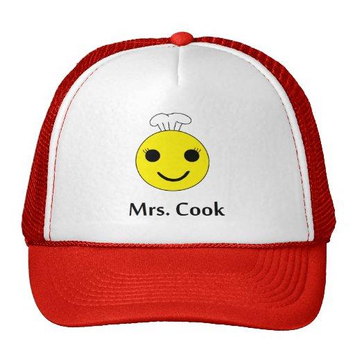 Mrs. Cook Trucker Hat
