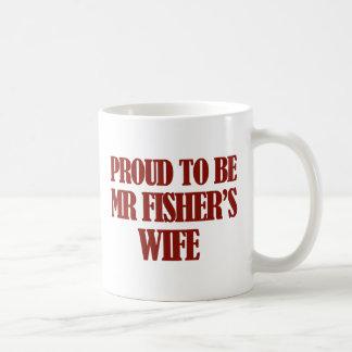Mrs fisher's designs coffee mug