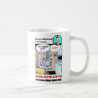 Mrs. Gowanus Coffee Mugs