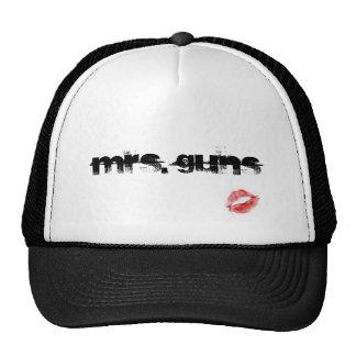 Mrs. Guns Trucker Hats