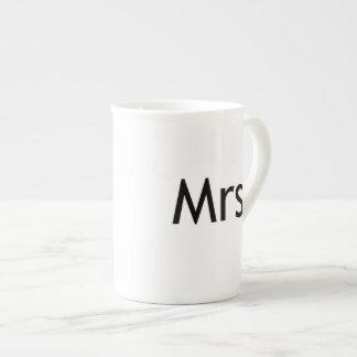 Mrs  - half of Mr and Mrs set Porcelain Mug