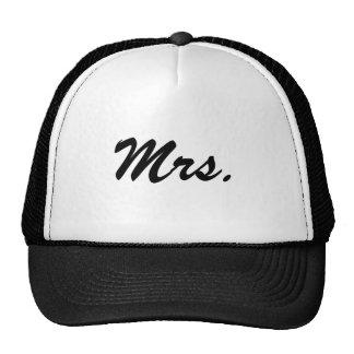 Mrs./Honeymoon Trucker Hat