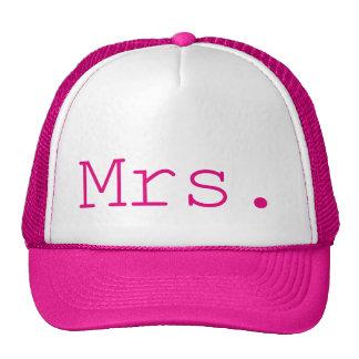 Mrs. Hot Pink Customizable Cap