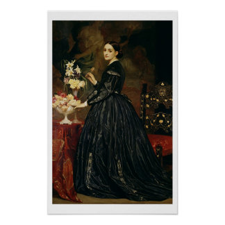 Mrs James Guthrie, c.1864-5 (oil on canvas) Poster