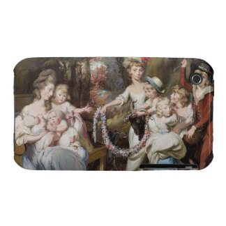 Mrs Justinian Casamajor and Eight of her Children, iPhone 3 Case-Mate Case