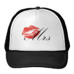 Mrs Lips Mesh Hats
