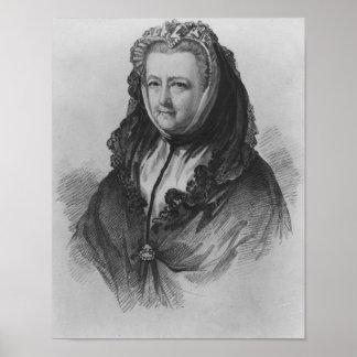 Mrs Mary Delany Poster
