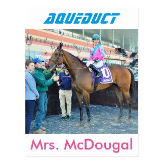 Mrs. McDougal & Jose Ortiz Postcard