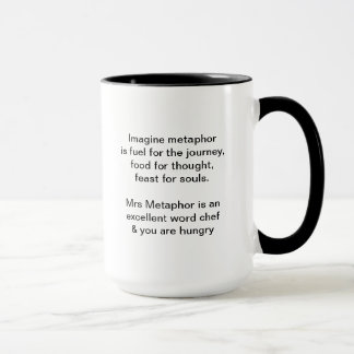 Mrs Metaphor Signature Mug