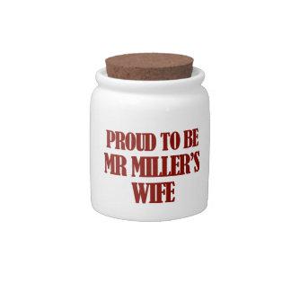 Mrs Miller designs Candy Jar