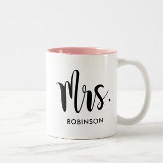 Mrs. Monogram Mug | Married
