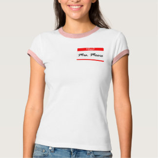 Mrs. Moore T-Shirt