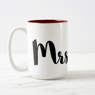 Mrs. mosquito Two-Tone coffee mug