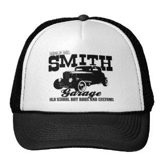 Mrs.& Mr. Smith Hot-Rod Garage Trucker Hat