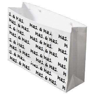 """""""Mrs. & Mrs."""" Gift Bag"""
