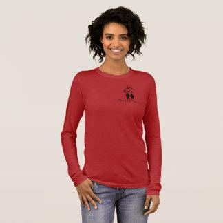 mrs & mrs maid of honor long sleeve T-Shirt