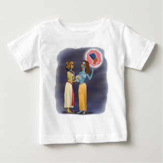 Mrs Mummific shopping Baby T-Shirt