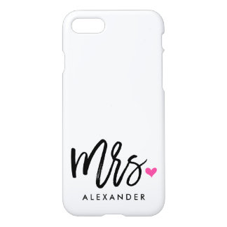 Mrs. (NAME) iPhone 7 Case