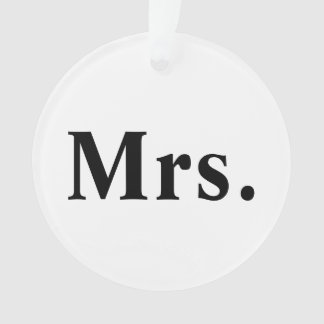 Mrs Ornament Holidays