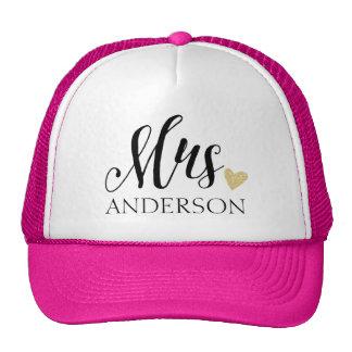 Mrs. Personalized Cap